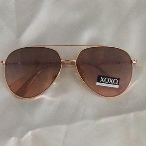 XOXO Studded Aviator Sunglasses 100% UV Protection
